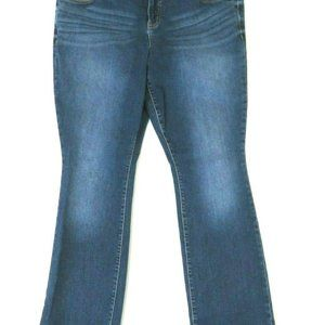 Torrid Womens Barely Boot Leg Jeans Blue Medium Wa